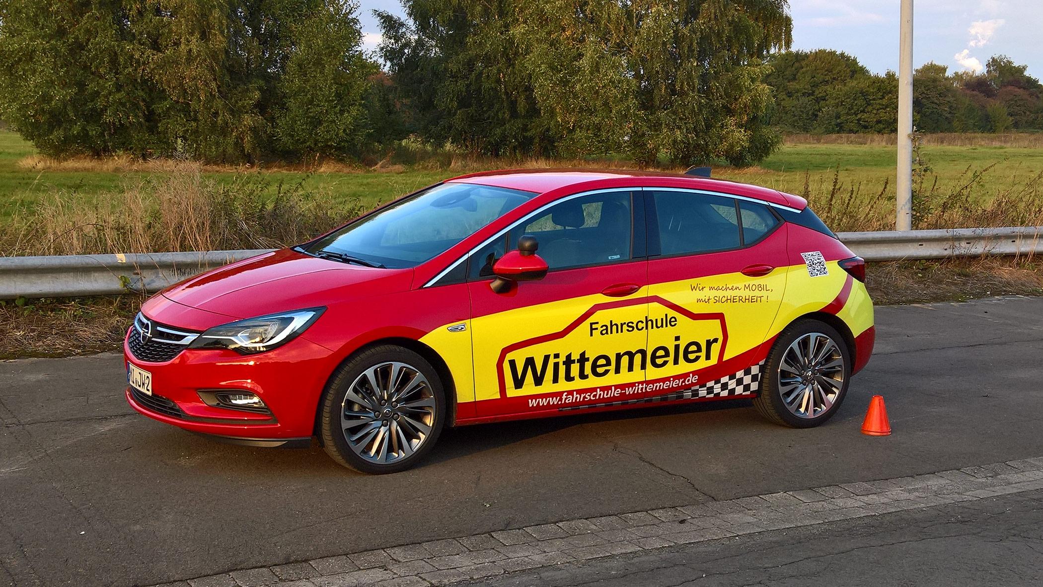 Fahrschulauto Wittemeier